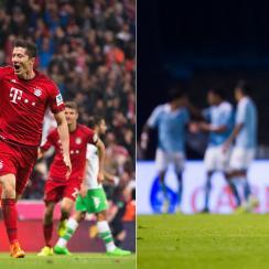 Robert Lewandowski, Lionel Messi experienced differing fortunes this week