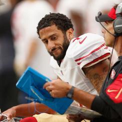 49ers carlos hyde colin kaepernick interception quotes