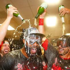 St. Louis Cardinals NL Central title