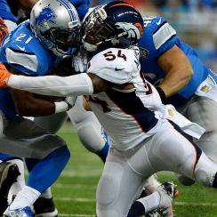 The Broncos defense is allowing 259 yards per game, lowest in the NFL. (Aaron Ontiveroz/Getty Images)