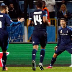 Real Madrid's Cristiano Ronaldo scores 500th career goal