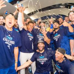 toronto blue jays american league east champions clinch