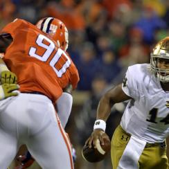 notre dame fighting irish clemson tigers video