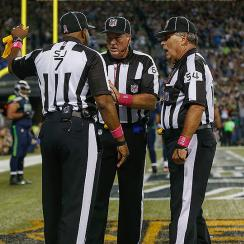 Seahawks Lions illegal batting call: Every play should be reviewable