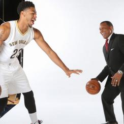Anthony Davis; Alvin Gentry