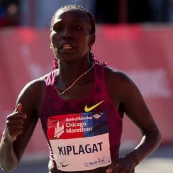 Florence Kiplagat Chicago Marathon