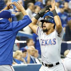 The Texas Rangers beat the Toronto Blue Jays in Game 2.