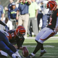mike nugent bengals field goal video