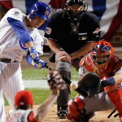 anthony rizzo postseason home run chicago cubs record