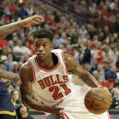 Chicago Bulls guard Jimmy Butler is definitely worth watching during the 2015-16 NBA season