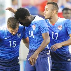USA U23s beat Canada to reach Olympic qualifying playoff.