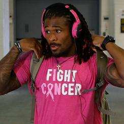 NFL breast cancer month: DeAngelo Williams, Cameorn Heyward limited by tone-deaf league