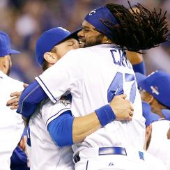 Johnny Cueto, Kansas City Royals beat Houston Astros in ALDS Game 5.