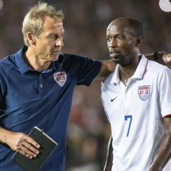 Jurgen Klinsmann, DaMarcus Beasley, USMNT