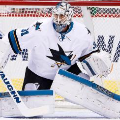 Martin Jones San Jose Sharks Boston Bruins trade