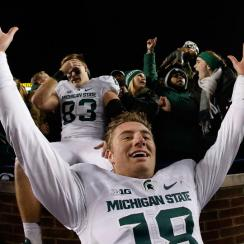 michigan state fumble recovery twitter