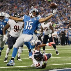 Golden Tate overturned interception Lions touchdown