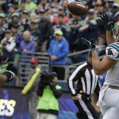Greg Olsen, Panthers come back to beat Seahawks 27–23