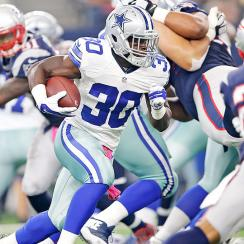 Christine Michael Dallas Cowboys Week 7 waiver wire
