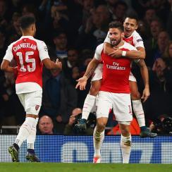Arsenal beats Bayern Munich in Champions League