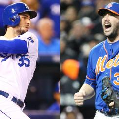 Eric Hosmer Matt Harvey Kansas City Royals New York Mets World Series