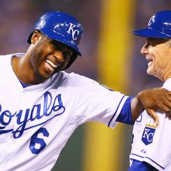 Lorenzo Cain Kansas City Royals ALCS Game 6