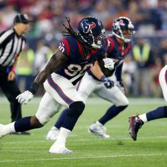 Houston Texans Jadeveon Clowney first career sack