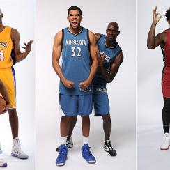 Kobe Bryant, Kevin Garnett and Dwyane Wade prepare to be mentors.