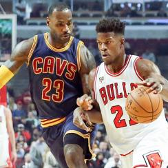 LeBron James Cleveland Cavaliers Jimmy Butler Chicago Bulls