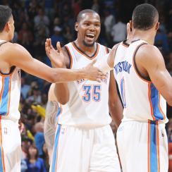 Kevin Durant return Oklahoma City Thunder San Antonio Spurs