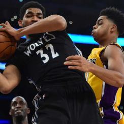 Karl-Anthony Towns, D'Angelo Russell