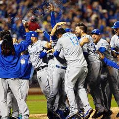 Royals win World Series