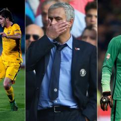 Sergi Roberto, Jose Mourinho, Samir Handanovic