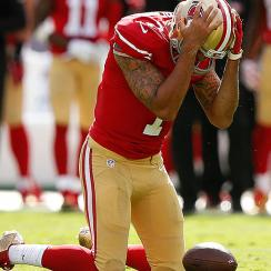 NFL Week 9: Colin Kaepernick benched for Blaine Gabbert as 49ers reach new low
