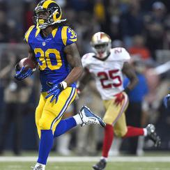 Rams rookie Todd Gurley's stellar start in statistical perspective