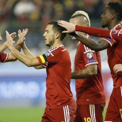 Belgium tops the FIFA world ranking