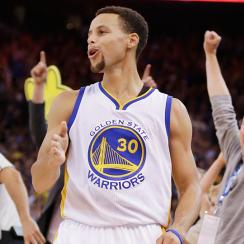 Stephen Curry Golden State Warriors Los Angeles Clippers