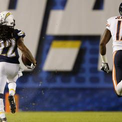 chargers bears jay cutler jason verrett pick six video