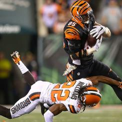 Fantasy week 10: Tyler Eifert among top tight ends at midseason