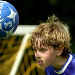 Youth soccer header