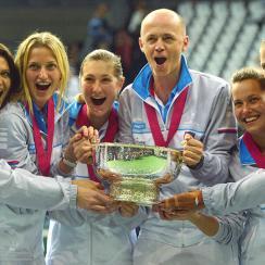 Czech Republic Russia Fed Cup final