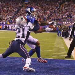 patriots giants odell beckham loss catch drop quote