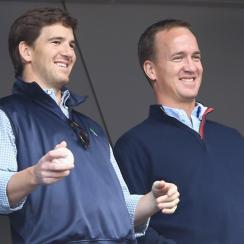 denver broncos peyton manning injury eli manning giants