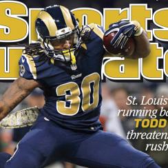 sports illustrated cover todd gurley st. louis rams