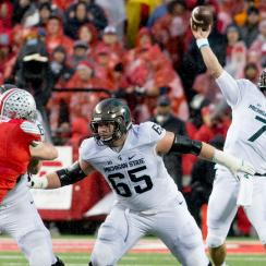 michigan state game winning field goal vs ohio state video