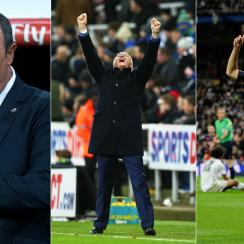 Rafa Benitez, Claudio Ranieri, Andres Iniesta