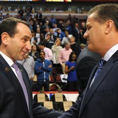 Coach K, John Calipari