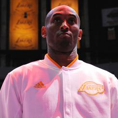 Kobe Bryant retirement announcement Los Angeles Lakers