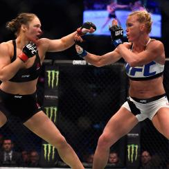 ronda rousey holly holm rematch fight