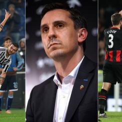Paulo Dybala, Gary Neville, AFC Bournemouth